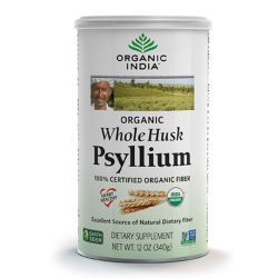 Organic India Organic Whole Husk Psyllium