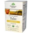 Organic India Tulsi Tea - Vanilla Creme - 18 Tea Bags