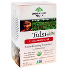 Organic India Tulsi Tea - Cinnamon - Rose - 18 Tea Bags