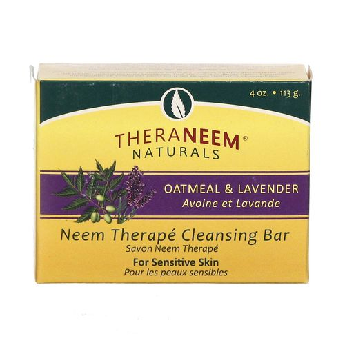 Oatmeal- Lavender and Neem Bar