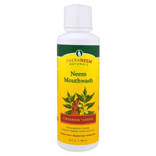 Organix South Neem Mouthwash Canela - 16 fl oz - 50739_front.jpg