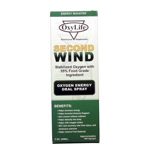 Second Wind Oxy-Max (Mint)