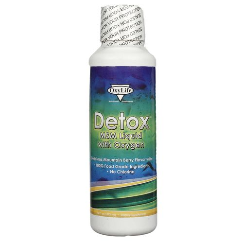 Detox MSM Liquid with Oxygen