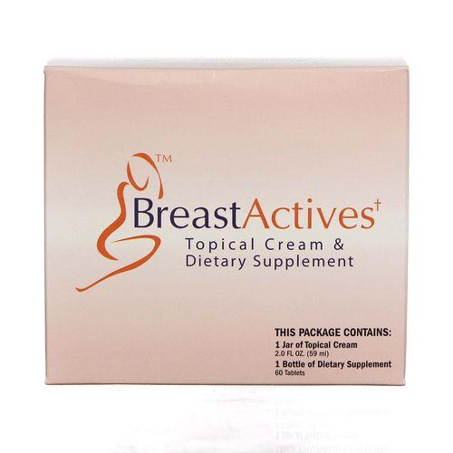 Buy Pacific Naturals Breast Actives 1 Kit Evitamins Australia