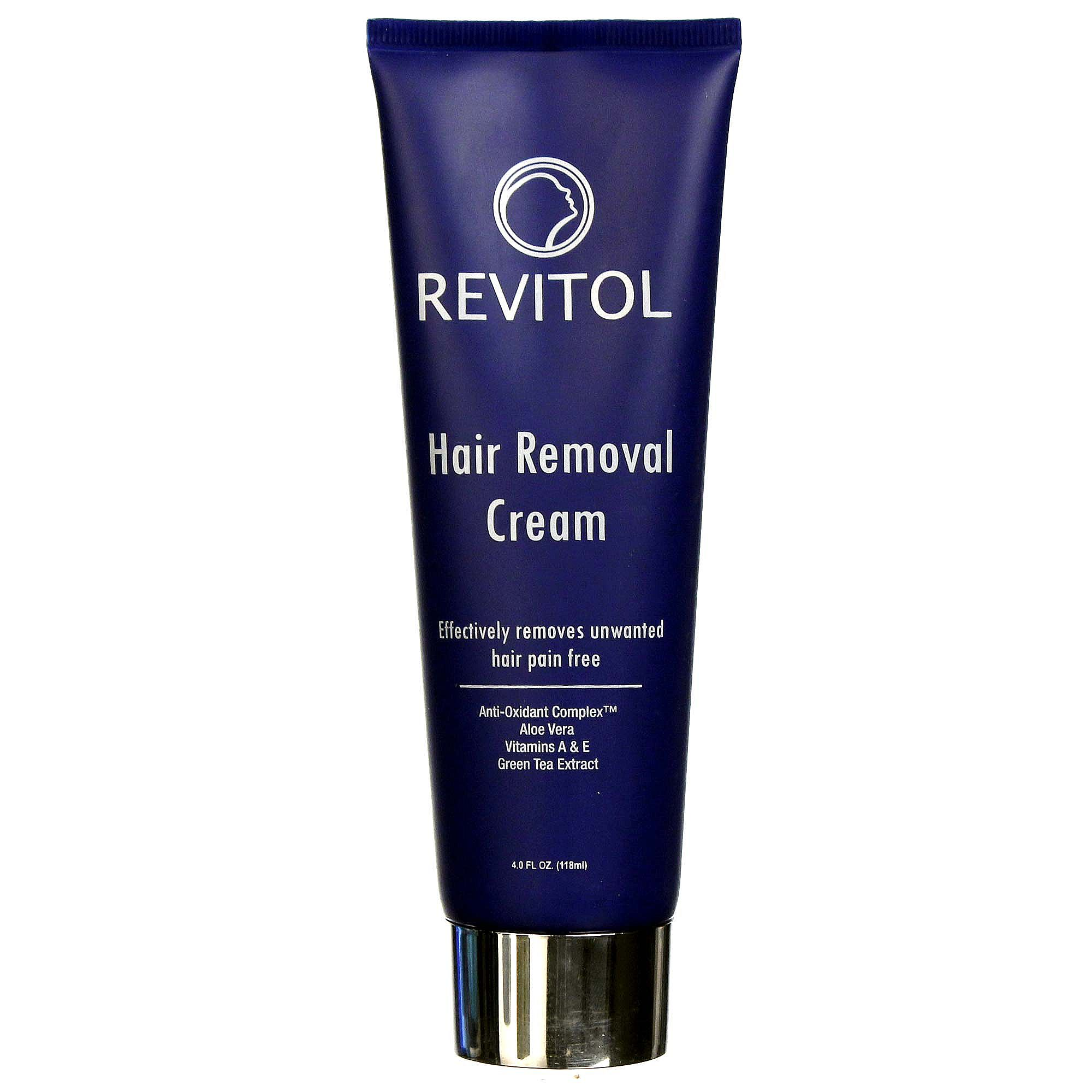Pacific Naturals Revitol Hair Removal Cream 4 Fl Oz Evitamins