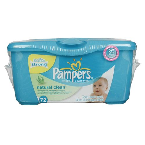 Natural Clean Baby Wipes