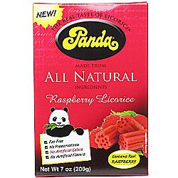 Panda All Natural Raspberry Licorice
