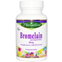 Paradise Herbs Bromelain 500 mg