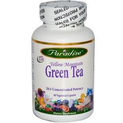 Paradise Herbs Yellow Mountain Green Tea Extract