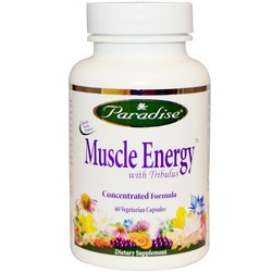 Paradise Herbs Muscle Energy with Tribulus
