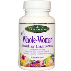 Paradise Herbs Whole-Woman Sensual Fire Libido Formula