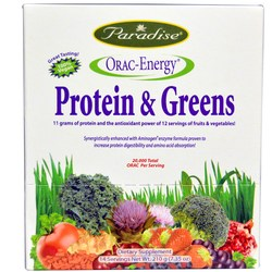 Paradise Herbs ORAC-Energy Protein  Greens