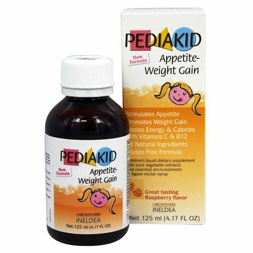 Pediakid Appetite Weight Gain Raspberry 125 Ml