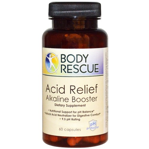 Body Rescue Acid Relief Alkaline Booster