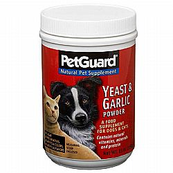 PetGuard Yeast and Garlic Powder