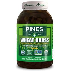 Pines International Wheat Grass 500 mg