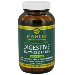 Pioneer Digestive Enzymes and Herbs