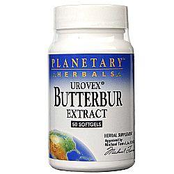 Planetary Herbals Butterbur Extract Urovex