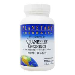 Planetary Herbals Full Spectrum Cranberry Concentrate 560 mg