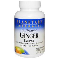 Planetary Herbals Full Spectrum Ginger 350 mg