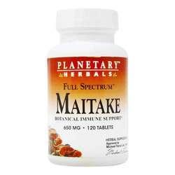 Planetary Herbals Full Spectrum Maitake 650 mg