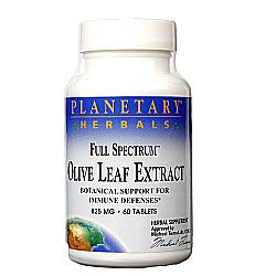 Planetary Herbals Full Spectrum Olive Leaf Extract