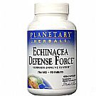 Planetary Herbals Echinacea Defense Force - 90 Tablets