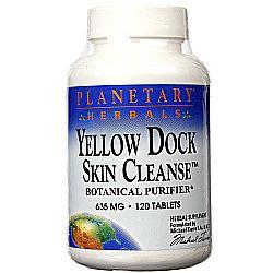 Planetary Herbals Yellow Dock Skin Cleanse