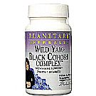 Planetary Herbals Wild Yam - Black Cohosh Complex - 60 Tablets