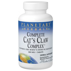 Planetary Herbals Complete Cat's Claw Complex 880 mg