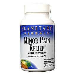 Planetary Herbals Minor Pain Relief
