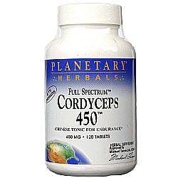 Planetary Herbals Full Spectrum Cordyceps 450 mg