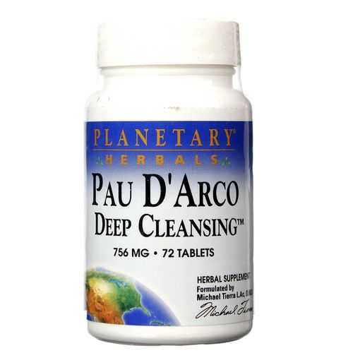 Pau D'Arco Deep Cleansing