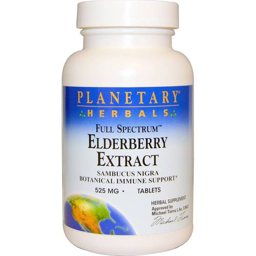 Full Spectrum Elderberry Extract 525 mg