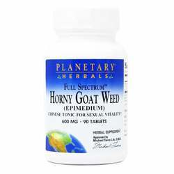 Planetary Herbals Full Spectrum Horny Goat Weed 600 mg