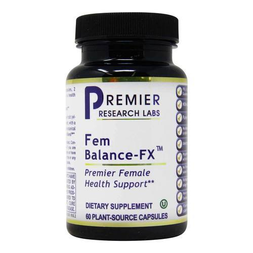 Premier Research Labs Fem Balance-FX - 60 Plant-Source Capsules - 318501_front2020.jpg