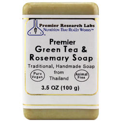 Premier Research Labs Premier Green Tea  Rosemary Soap