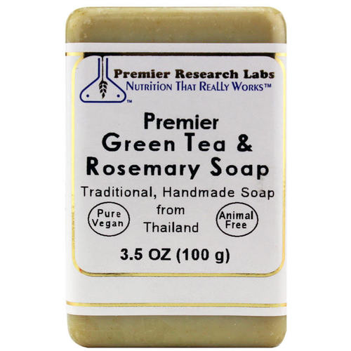 Premier Green Tea & Rosemary Soap