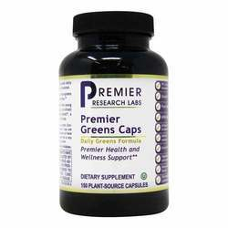 Premier Research Labs Premier Greens Caps