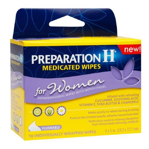 Medicated Wipes for Women