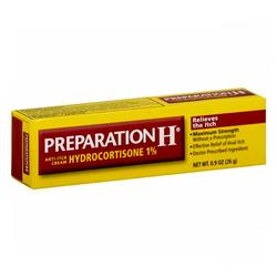 Preparation H Hydrocortisone Anti-Itch Cream