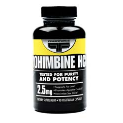 PrimaForce Yohimbine HCI 2.5 mg