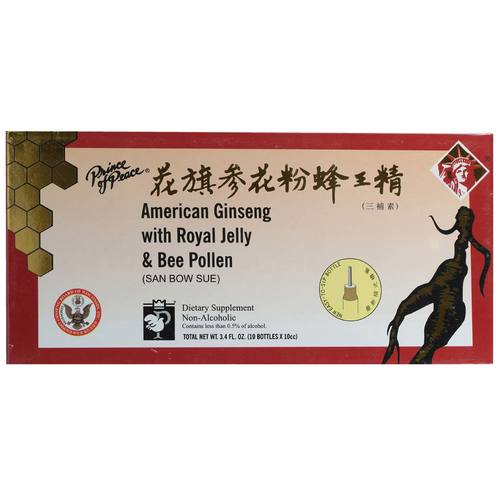 American Ginseng with Royal Jelly and Bee Pollen