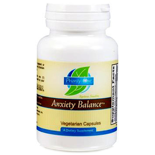 Priority One Anxiety Balance - 45 Vegetarian Capsules