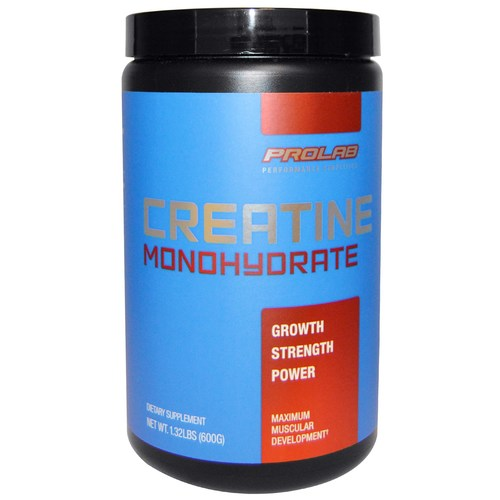 Creatina - 肌酸 Monohydrate Powder by Prolab Nutrition - 300 Grams - 4374_01.jpg