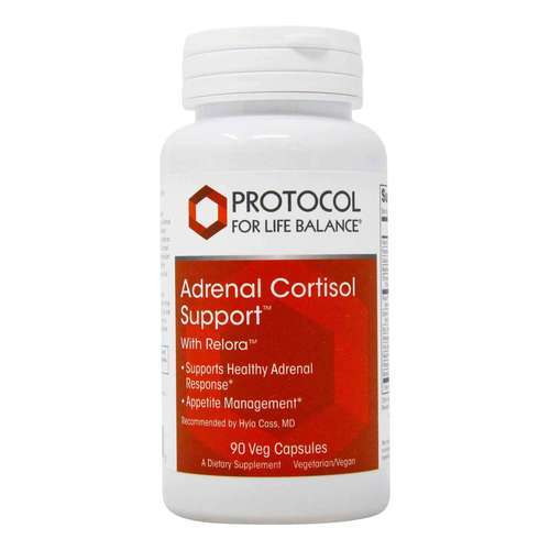 Protocol for Life Balance Adrenal Cortisol Support - 90 Veg Capsules - 113800_front2020new.jpg