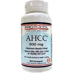 Protocol for Life Balance AHCC
