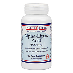 Protocol for Life Balance Alpha Lipoic Acid Plus