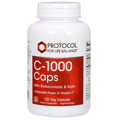 Protocol for Life Balance C-1000 Caps with Bioflavanoids and Rutin