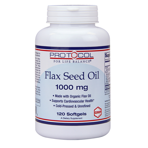 Flax Seed Oil 1-000 mg